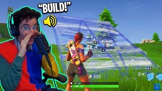 Playing Fortnite with ONLY My Voice