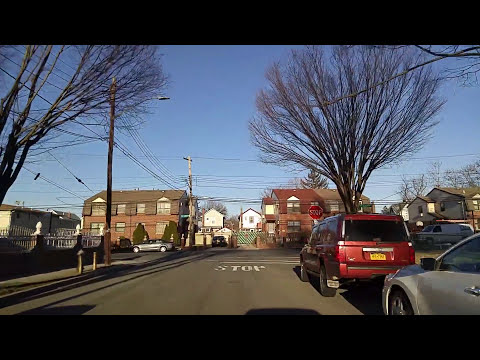 Driving by South Jamaica in Queens,New York