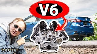 Why Not to Buy a V6 Car (Inline 4 Cylinder vs V6 Engine)