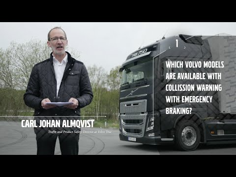 Volvo Trucks - Safety talk about our active safety systems