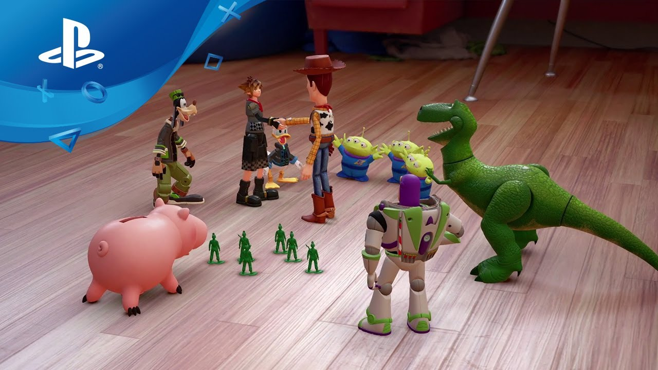 Dach Toy Story : Kingdom hearts iii toy story trailer ps youtube