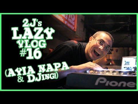 Αγία Νάπα & DJing! (Lazy Vlog #16)