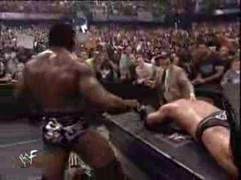 Rhyno & Booker T vs Chris Jericho & The Rock part 2 thumbnail