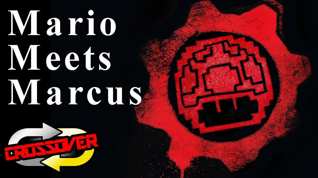 new series connecting mario to gears of war crossover youtube