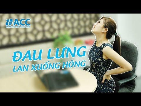 [ACC] Đau Thắt Lưng – Nguyên nhân và cách chữa đau lưng lan xuống hông tại ACC