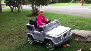 Купить детский электромобиль Mercedes G 55(Стильный электромобиль - лучший подарок для ребенка!, 2016-05-13T08:57:20.000Z)