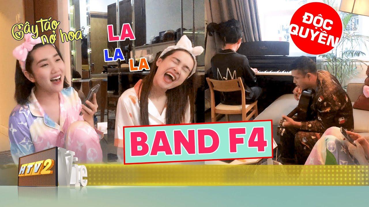[Hậu trường] Song Luân Trương Thế Vinh Nhã Phương Thúy Ngân lập band F4 | CÂY TÁO NỞ HOA