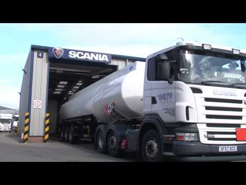 Scania: Supporting The UK Fuel Industry