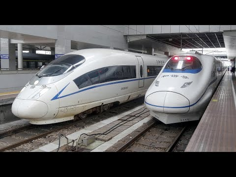 View to China - CRH-Train G7205 from Wuxi to Shanghai  (full distance)