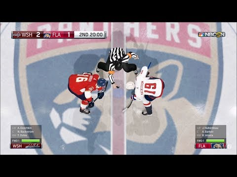 NHL 18 - Florida Panthers vs Washington Capitals - Gameplay (HD) [1080p60FPS]