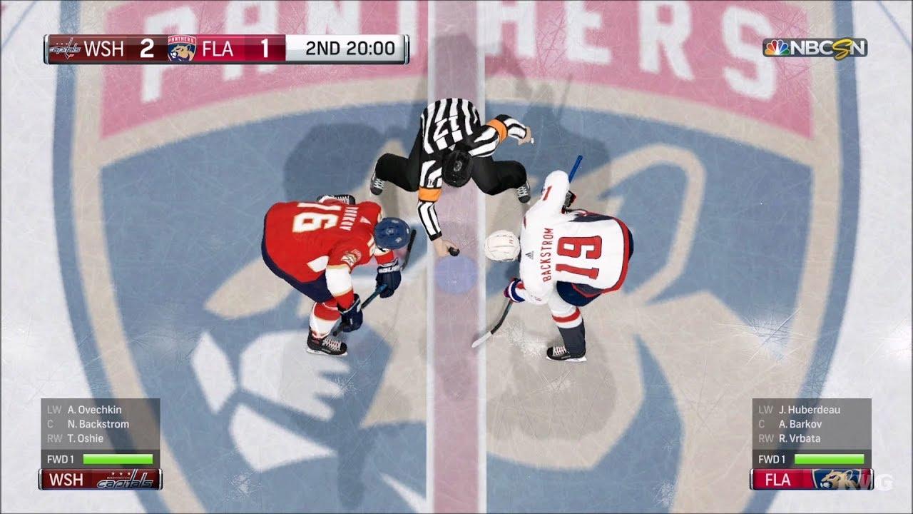 NHL 18 - Florida Panthers vs Washington Capitals - Gameplay (HD)   1080p60FPS  61e23fef8a7e