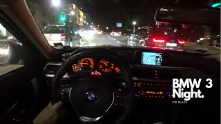 BMW 318d 150 HP Night 4K | POV Test Drive #055 Joe Black