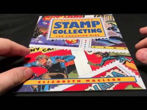 Children's Stamp Collecting Starter Book from Canada Post