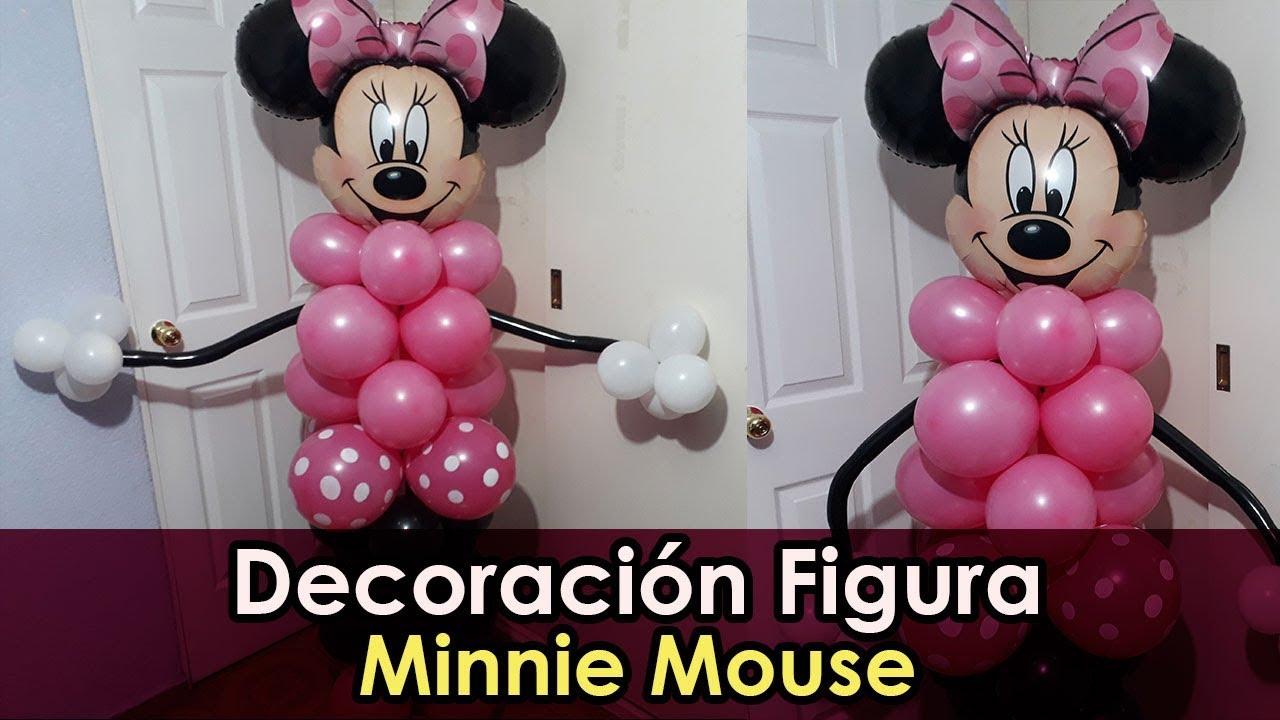 Minnie De Mouse Globos Arreglos
