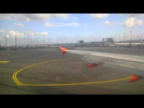 Copenhagen airport Denmark with Easy Jet