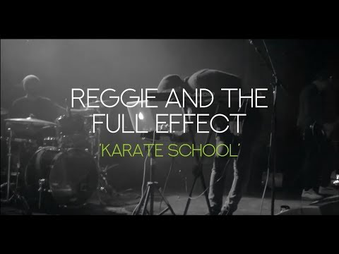 "Reggie and The Full Effect ""Karate School"" Official Music Video"