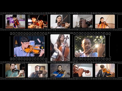 32 Musicians, 6 Instruments, One Song Heal The World Mass Collaboration