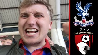 MATCHDAY VLOG #44: Crystal Palace vs Bournemouth | GOODBYE TO SPERONI AND PUNCHEON