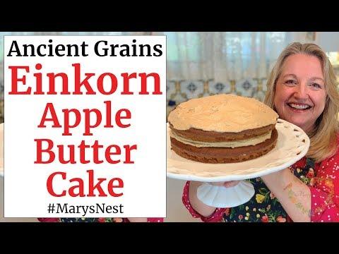 einkorn-apple-butter-cake---einkorn-flour-recipe