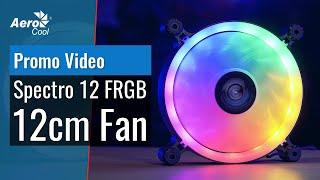 AeroCool SPECTRO Fan RGB 12cm