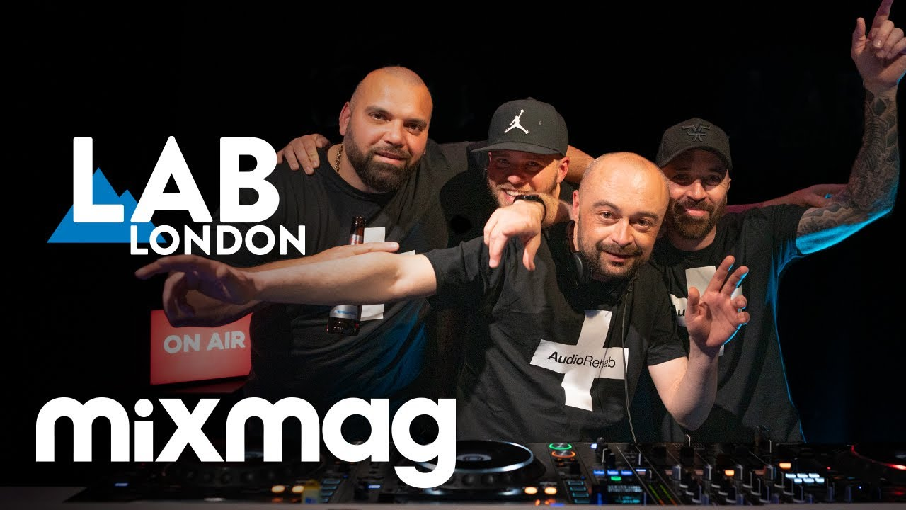 Download AUDIO REHAB Deep Tech set in the Lab LDN