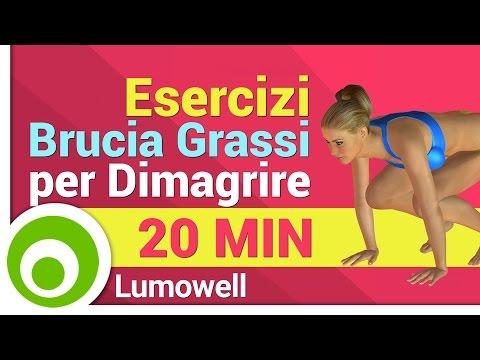 Esercizi Brucia Grassi per Dimagrire - Aerobica a Casa