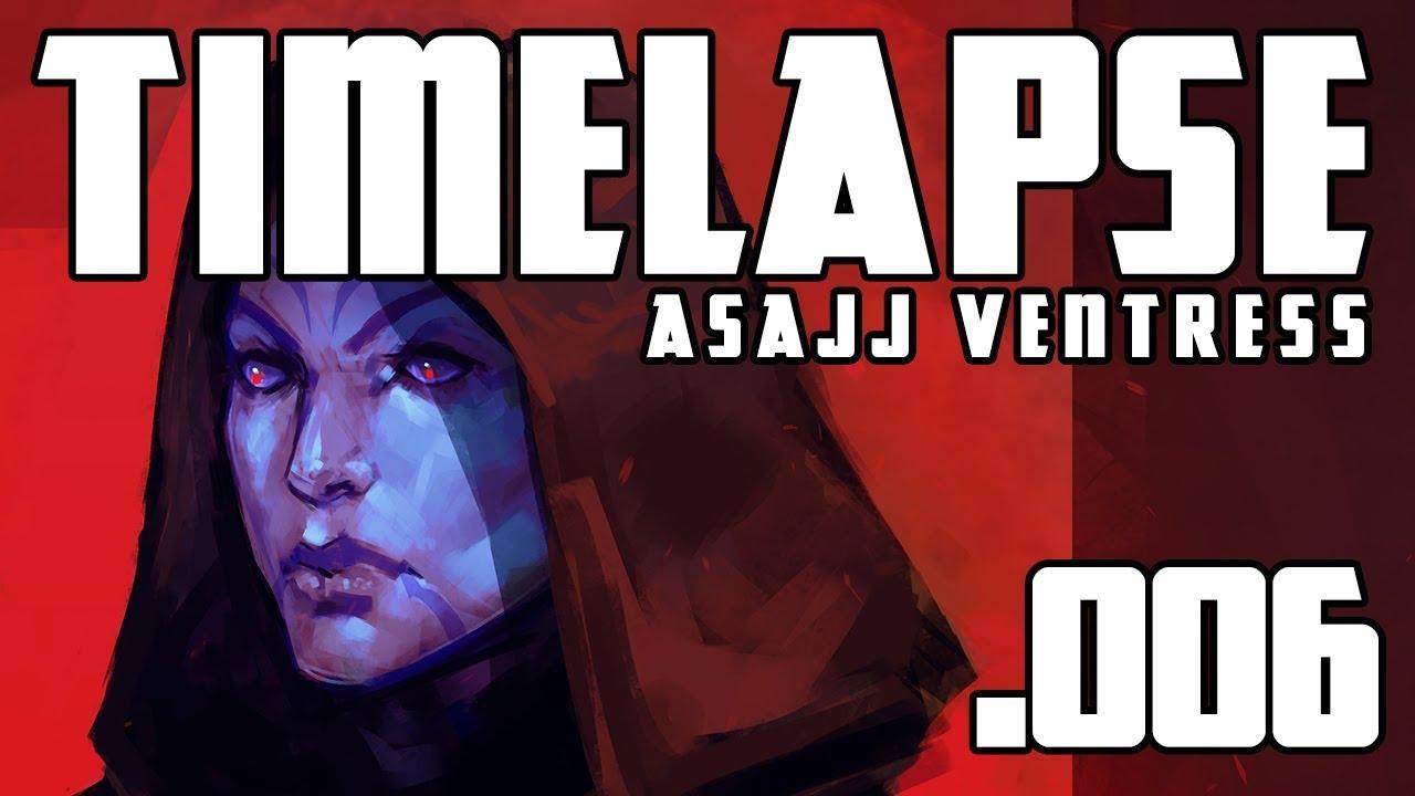 Asajj Ventress: Timelapse 006