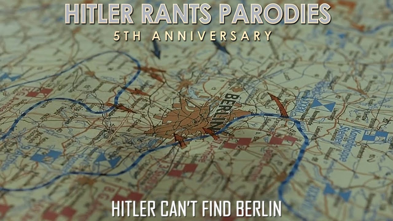 Hitler can't find Berlin