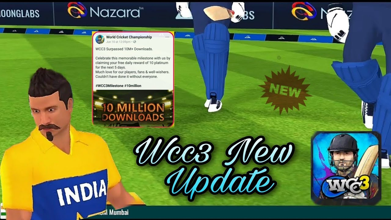 Wcc3 Game Next Level Big Update Coming   Wcc 3 New Update 2021   New Update Featuers