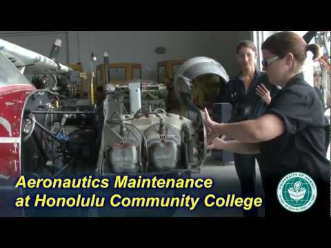 Aeronautics Maintenance Technology at Honolulu Community College