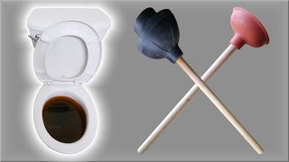 Clogged Toilet? Unclog in Seconds
