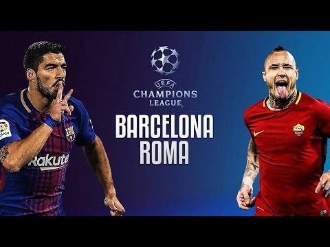 barcelona vs roma live stream