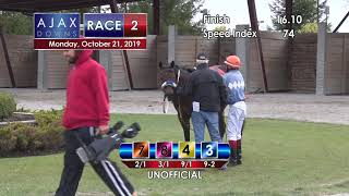 Ajax Downs October 21  2019   Race 2