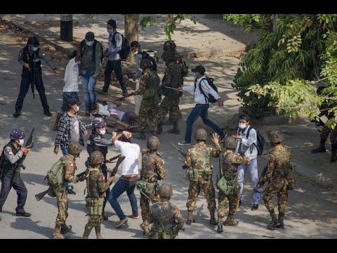 ميانمار.. مقتل متظاهرين برصاص الشرطة  - 11:59-2021 / 2 / 28
