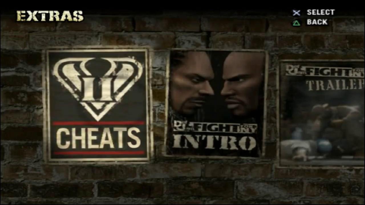 Kode cheats Def Jam Fight for NY PS2 - YouTube