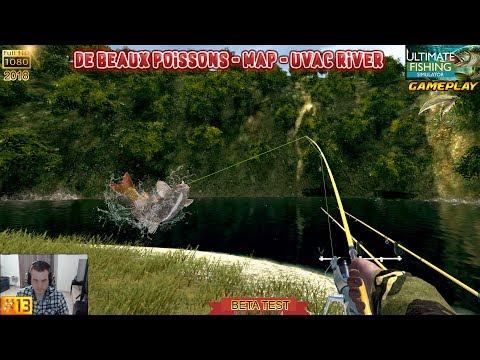 ULTIMATE FISHING SIMULATOR #13 FLY FISHING MAP UVAC RIVER FISHERY BETA JEU DE PÊCHE 2018