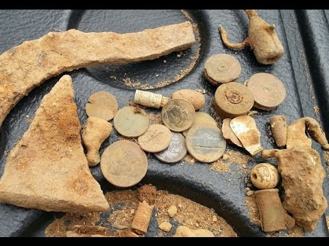 Metal Detecting: Antique Lure Coins Headstamps TONSOFUNSO