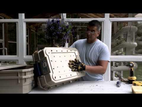Como hacer una granja para lombrices youtube for Como hacer criadero de truchas