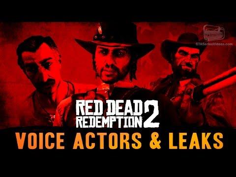 Red Dead Redemption 2  Voice Actors & Leaks  Roundup
