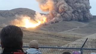 Biggest rocket engine ever tested in the world