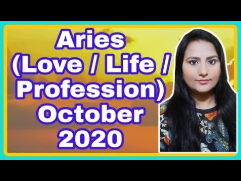 🌞Aries (Love/Life/Profession) October 2020🔮 | Psychic Pooja🦚