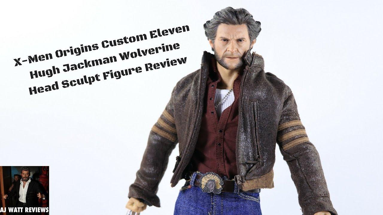 Head Sculpt Wolverine Logan Marvel 1//12 Scale Toy