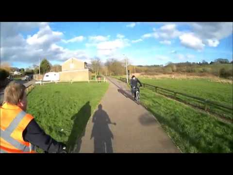Long ride to Wivenhoe, 22nd February 2014