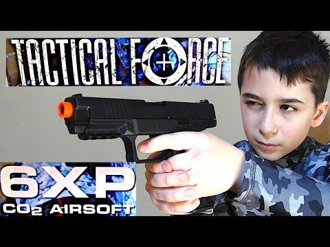 Tactical Force 6XP CO2 Gas Blowback Airsoft Gun