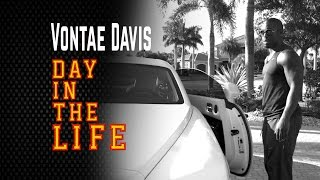 A Day in the Life with Vontae Davis
