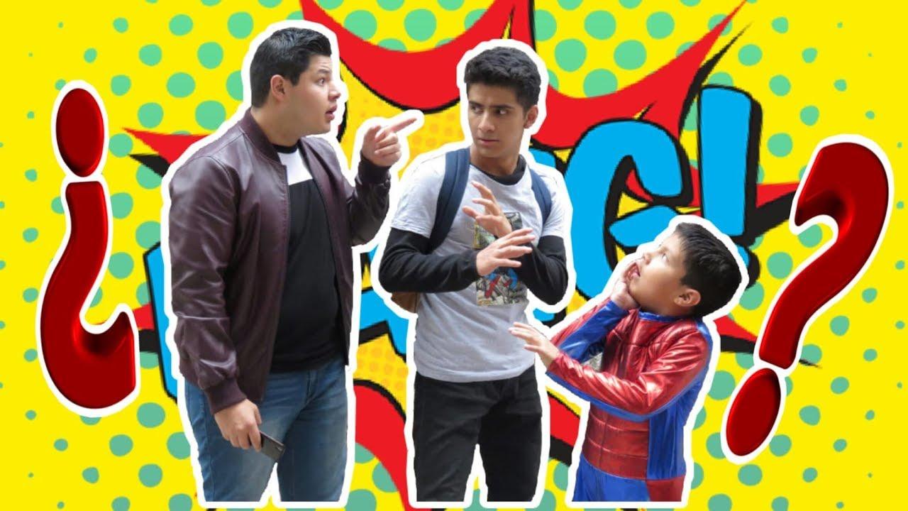 Mi amigo es un Superhéroe? || Marvel Universe LIVE! || Nene Motte
