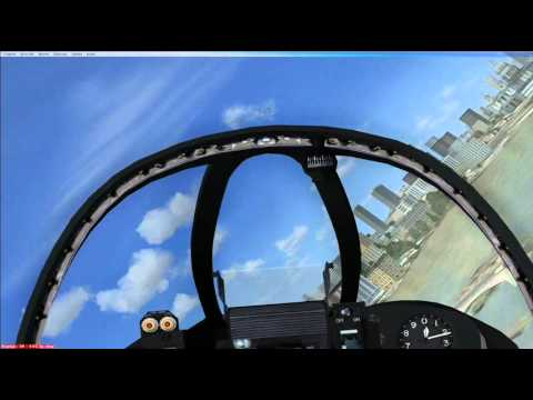 SimHQ Feature: Cockpit View - Tower Bridge fly thr...