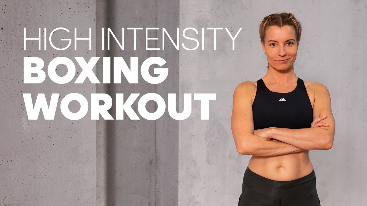 High Intensity Boxing Workout at Home (no equipment necessary)