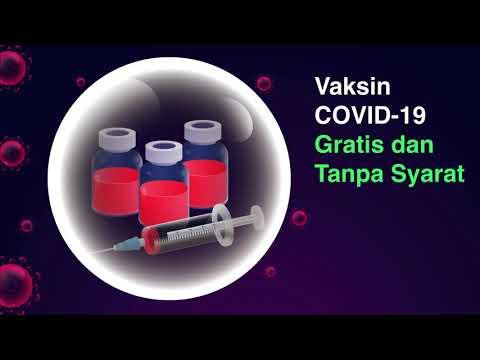 Vaksin Covid Gratis Tanpa Syarat