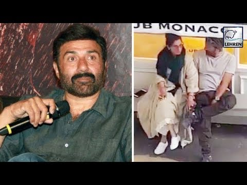 Sunny Deol REACTS On The Viral Video With Dimple Kapadia | LehrenTV